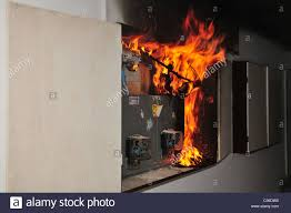 fuse box electrical a fire broke out in a household electrical fuse box flames a fire broke out in
