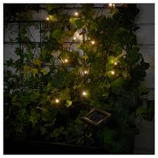 ikea solar lighting. IKEA SOLARVET LED Lighting Chain With 12 Lights Easy To Use Because No Cables Or Plugs Ikea Solar
