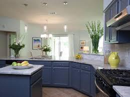 Blue Cabinets Kitchen Blue Kitchen Cabinets Home Design Ideas