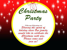Christmas Wording Samples New Holiday Party Invite Wording Or Potluck Invite Party Invitation