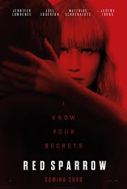 Red Sparrow 2018 | Red sparrow movie, Red sparrow, Full movies online free