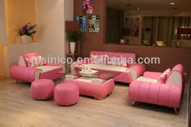 contemporary leather living room furniture. Morden Contemporary Style Pink Leather Sofa,Unique Design Sectional Sofa Set, Living Room Furniture I