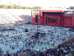Rose Bowl Concert Seating Chart Rolling Stones Rose Bowl Stadium Section 14 Concert Seating Rateyourseats Com