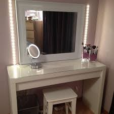 vanity makeup table set unique top 68 awesome makeup vanity chair bedroom with lights table