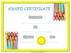 Free Online Printable Certificates Of Achievement 32 Best Volunteer Recognition Images Free Printable Certificates