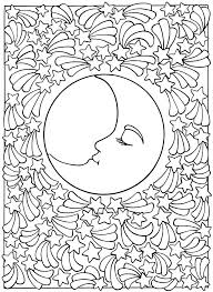 moon coloring pages free page half photos best s sun and su free printable sailor moon coloring pages