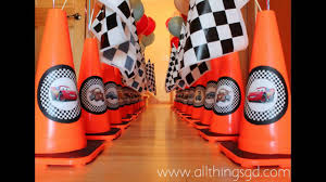 Cars Party Decorations Awesome Cars Birthday Party Decorations Ideas Youtube