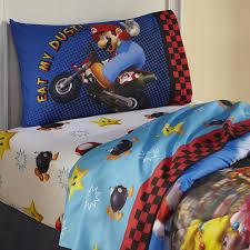 Mario Bedroom Nintendo Super Mario Twin Sheet Set Home Bed Bath Bedding