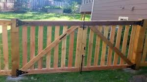 picket fence double gate. Fine Picket With Picket Fence Double Gate 0