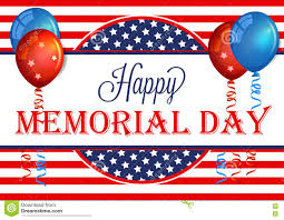 Happy Memorial Day Banner Memorial Day Background Template