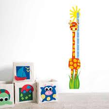 Giraffe Chart Very Merry Berry Orange Giraffe Height Chart
