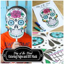 23-day-of-the-dead-mask-coloring-page