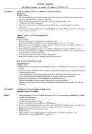 Accounting Manager Resume Tax Accounting Manager Resume Samples Velvet Jobs 17