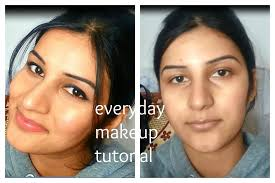 my everyday makeup routine n tutorial for indian brown olive tan skin tone affordable and easy you