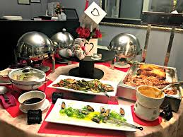 round table all you can eat lunch buffet gallery decoration