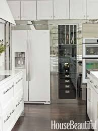Plain Kitchens With White Ice Appliances H Design