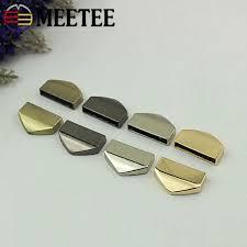 Meetee 5cm <b>Bag</b> Corner Screws <b>Clip</b> Edges Protector Metal Buckles ...