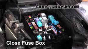 replace a fuse toyota corolla toyota corolla s 6 replace cover secure the cover and test component