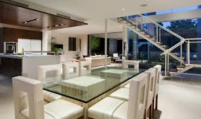 modern mansion dining room. Dining Area Of Modern House With Many Open Areas Mansion Room T