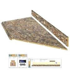 8 ft laminate countertop 8 ft laminate kit with right miter in winter carnival with premium