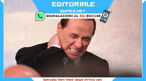 Messaggio ai negazionisti sulla salute di Berlusconi dopo la bufala sull'ex  Premier morto