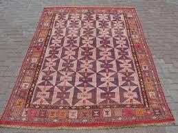 modern turkish hanwoven kilim rug turkish kilim decor rug 73 5 x102 5