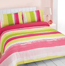 pink quilt bedding. Plain Pink Duvet Cover With Pillowcase Portobello Stripe Blue Green Pink Quilt Bedding  Set With
