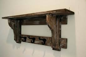 Primitive Coat Rack Interesting Rustic Wall Shelves Primitive Coat Rack Rustic Wall Shelf On Rustic