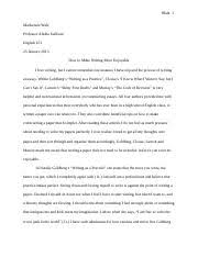bruce ballenger summary punctuation but these should be saved 5 pages responsive essay