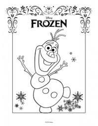 Disegni Da Colorare Frozen Olaf Olaf Disegni Di Frozen Da Colorare