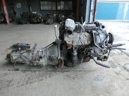 Used]Engine & Transmission 3L 4WD MT TOYOTA Hiace Van - BE FORWARD ...