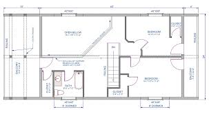 floor plan 1st floor of 24 x40 home