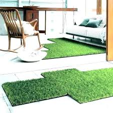 artificial grass rug for dogs outdoor turf carpet home depot fake design amusing green non to