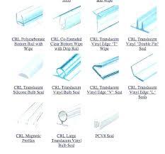 glass shower door seal strip bottom for gallery doors design ideas 1 4 inch sealant