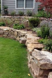 Small Picture 32 best Rock Walls images on Pinterest Stone retaining wall