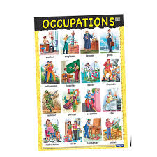Occupation Chart Pictures Educational Chart Occupations Bright Spark Enterprises