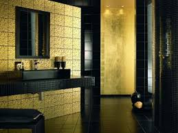 black and gold toilet. gold tile bathroom | photos of designs with black colour and toilet a