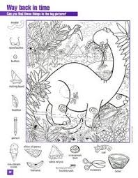 Triceratops, brontosaurus and more dinosaurs coloring pages and sheets to color. Kids Dinosaurs Hidden Pictures Hidden Picture Puzzles Hidden Pictures Printables