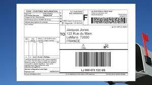 first cl mail international service