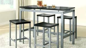metal kitchen table. Metal Dining Table Set Kitchen Wonderful In Silver And Chair