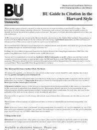 Harvard Referencing Spacing A Guide To Harvard 2019 03 01