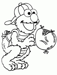 Small Picture Elmo Coloring Pages To Print Coloring Coloring Pages