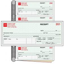 Free Rent Receipts Gorgeous Imprinted Rent Receipt BookStyle 48Free ShippingTake The Hassle