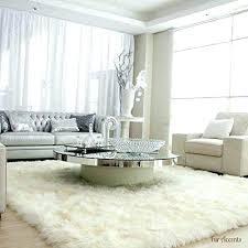 large faux fur rugs white fur rug living room fur fresh white best faux fur rug