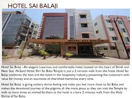 Hotel Sai Balaji Hotel Sai Balaji By Ashish Mittal Issuu