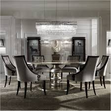 amazing large round italian champagne leaf dining table and chairs set unbelievable form large round dining