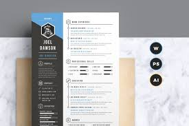 Template The Best Cv Resume Templates 50 Examples Design Shack