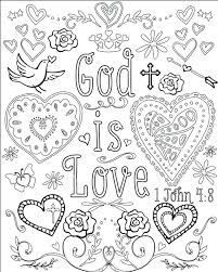 Small Picture God Is Love Coloring Pages Corresponsablesco