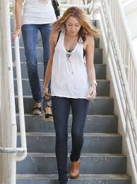 miley cyruS FASHION | miley cyrus white top jeans heels jewelry ...