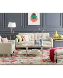 Keaton Leather Sofa Created for Macy s Furniture Macy s